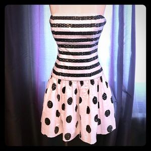 Betsey Johnson Sequence Party Dress
